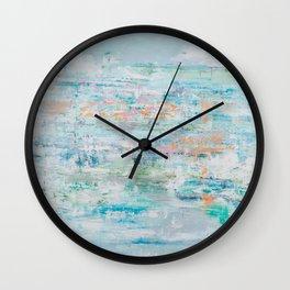 Chasing Peace Wall Clock
