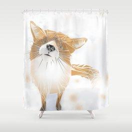 F.O.X Shower Curtain