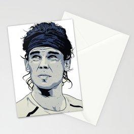 Rafael Nadal Illustrations Art Stationery Cards