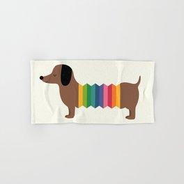 Rainbow Dooooog Hand & Bath Towel