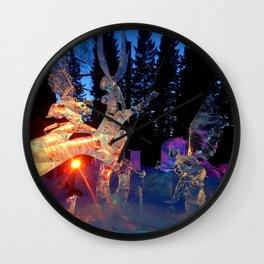 Maidens of Birch Tree Wall Clock