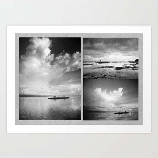 Bali x 3 Art Print