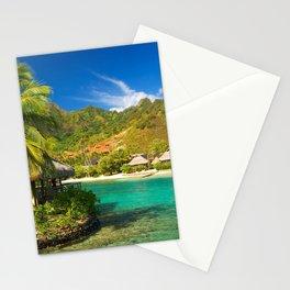 Tropics French Polynesia Sea Moorea Palma Stationery Cards