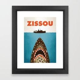 Zissou The Life Aquatic Framed Art Print