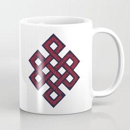 Eternal knot - red Coffee Mug