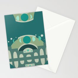 Mystical Moon Palace in Jade Stationery Cards