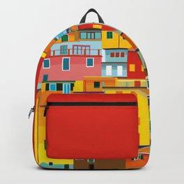 Manarola, Cinque Terre, Italy Backpack