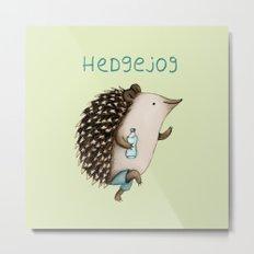 Hedgejog Metal Print