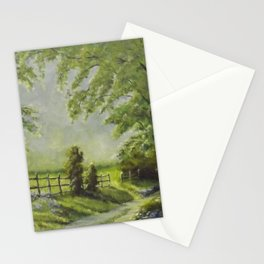 Country Path Stationery Cards