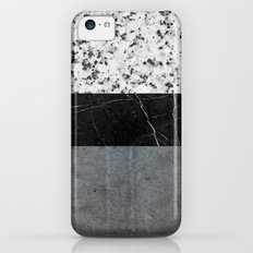 Marble, Granite, and Concrete Abstract Slim Case iPhone 5c