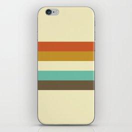 retro color palette 50s iPhone Skin