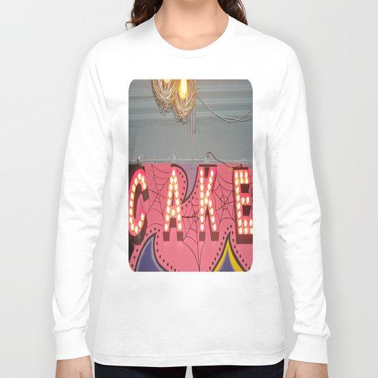 Cake ~ pop carnival signage Long Sleeve T-shirt