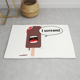 Ice Cream (I Scream, You Scream, We All Scream for Ice Cream) Rug