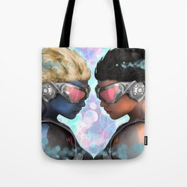 Head 2 Head Tote Bag