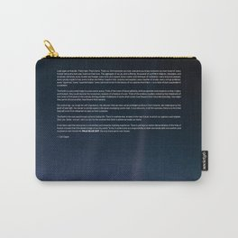 Pale Blue Dot — Voyager 1 (2020 rev.) Carry-All Pouch