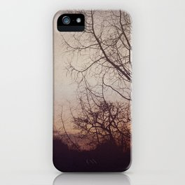Dreamy Sunset I  iPhone Case