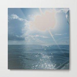 Sun's Reflective Light Metal Print