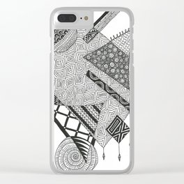 I'm Just Me Clear iPhone Case