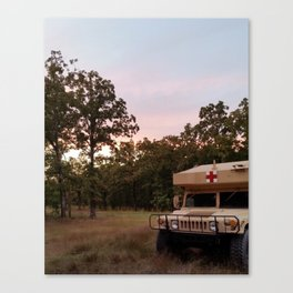 Stand-by Canvas Print