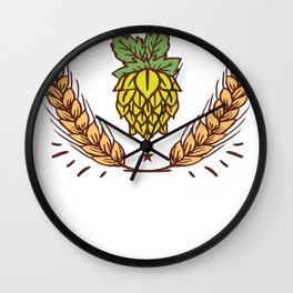 Brewery yeast sayings Wall Clock