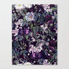 Rose Garden - Night II Canvas Print