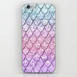 Mermaid Scales on Unicorn Girls Glitter #4 #shiny #pastel #decor #art #society6 iPhone Skin