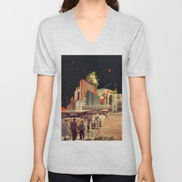 Software Road Unisex V-Neck