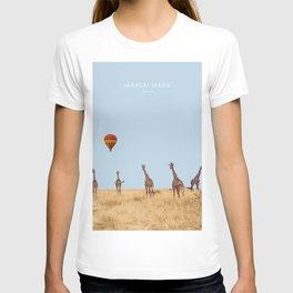 Maasai Mara National Reserve, Kenya Artwork T-shirt