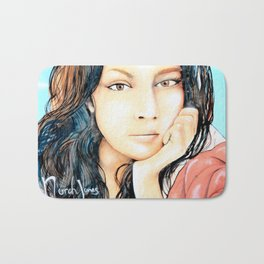 Norah Jones Mural Bath Mat