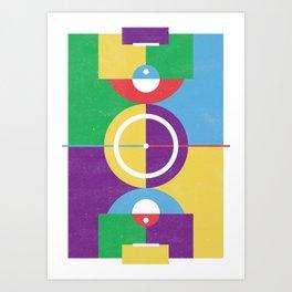 Playground // Football Art Print