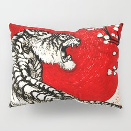 Japan Tiger Pillow Sham