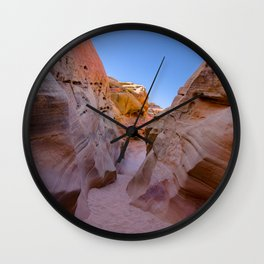 Colorful Canyon, Valley of Fire State Park Wall Clock