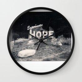 Hope Spectra B&W Wall Clock
