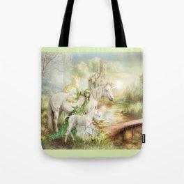 The Littlest Unicorn Tote Bag
