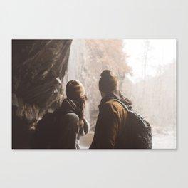 Hike Together Canvas Print