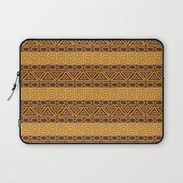 Ethnic african tribal hand-drawn pattern. Laptop Sleeve