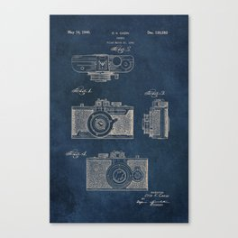 Cazin Camera patent art Canvas Print