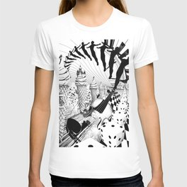 PLEASE, COME IN CONTACT OUR PLANET EARTH T-shirt