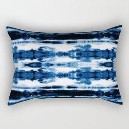 Indigo Stripe Wash Rectangular Pillow