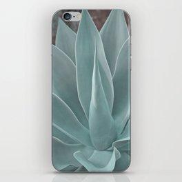 Azul Succulent Agave Plant iPhone Skin