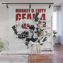 Gear 4 Snakeman Monkey D.Luffy Wall Mural
