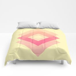 lazy middle dad Comforters