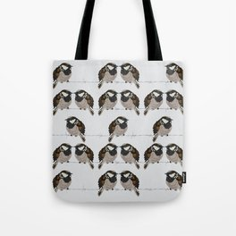 Little sparrows Tote Bag