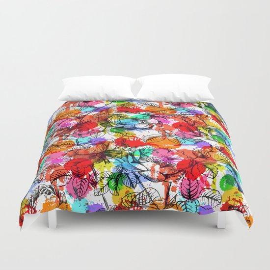 Beautiful Summer Pattern Duvet Cover