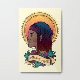 Our Lady Michonne Metal Print