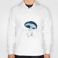 jellyfish Hoodies featuring jellyfish by Leilalilium