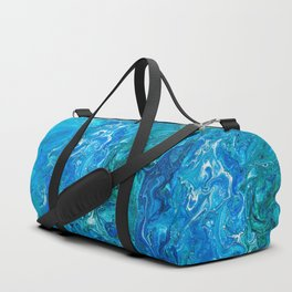 Elegant Crazy Lace Agate 2 - Blue Aqua Duffle Bag