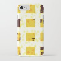 yellow pattern iPhone & iPod Cases featuring Yellow by SensualPatterns