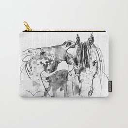 Horses (Socializing) Carry-All Pouch