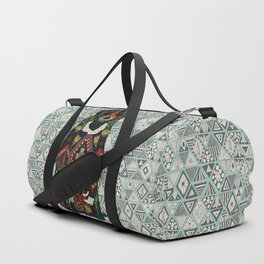 sun bear mint Duffle Bag
